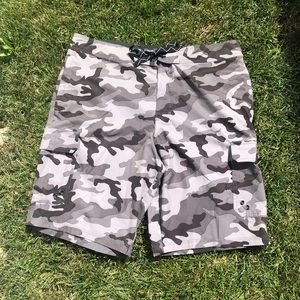 American Eagle Camouflage Bathing Suit